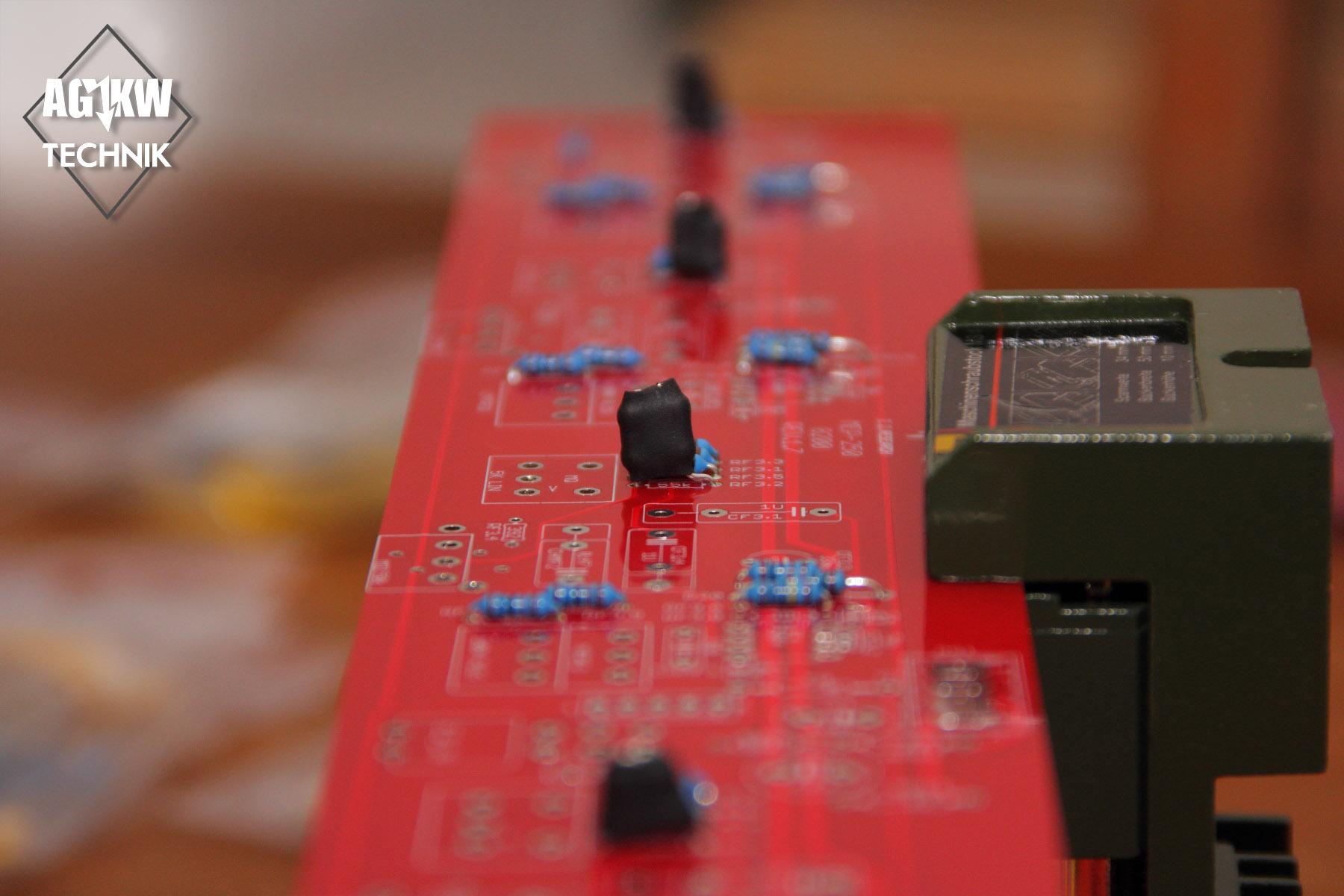 Resistors on Signalboard
