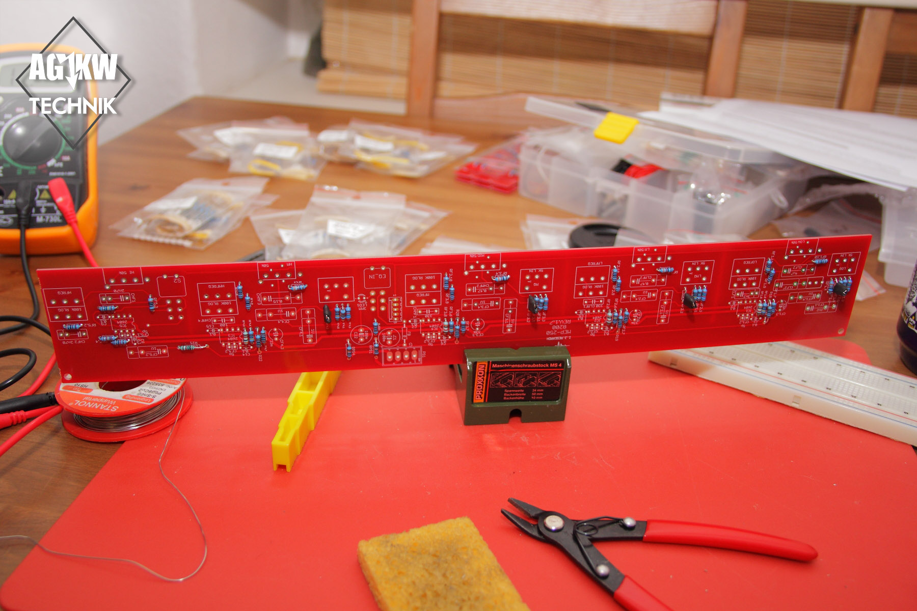 Resistors on Sontec Signal Board 2