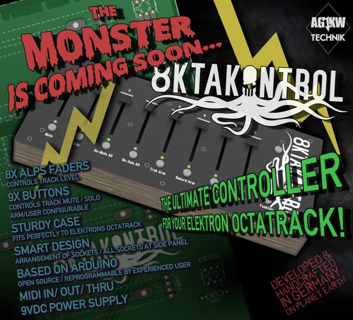 Oktakontrol Webflyer Ankuendigung  - oktakontrol webflyer announcement